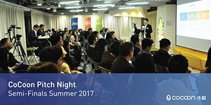 CoCoon Pitch Night Semi-Finals Summer 2017 (27/7)...