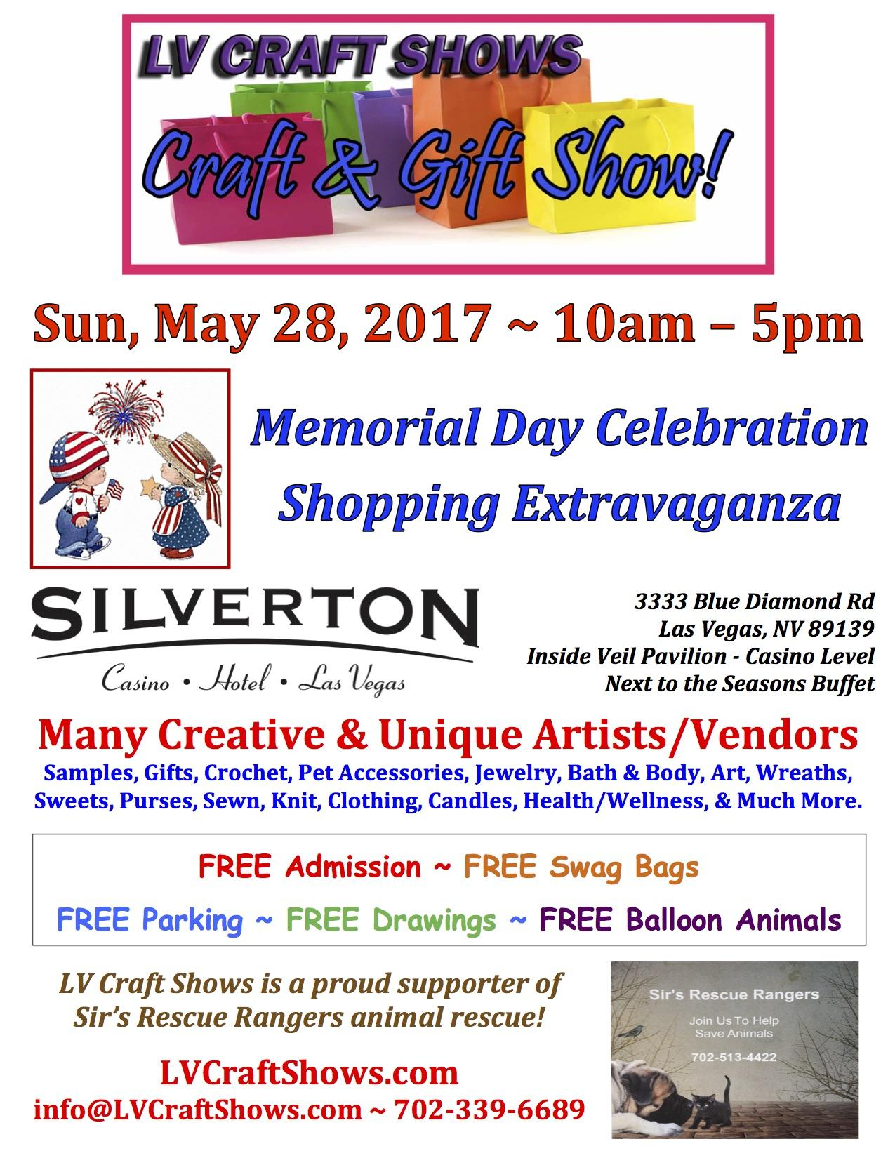 Memorial Day Celebration Shopping Extravaganz