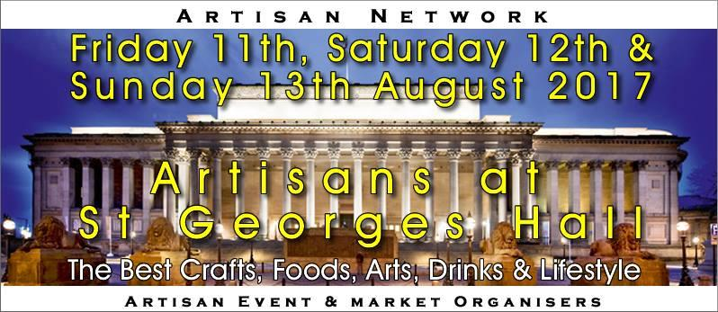 Artisans at St Georges Hall - Summer of Love