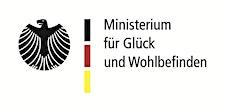 Ministerium für Glück und Wohlbefinden logo