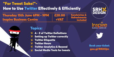 For Tweet Sake! How to use Twitter effectively and efficiently