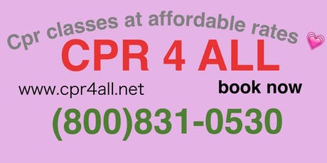 Basic life support for healthcare providers Course tickets