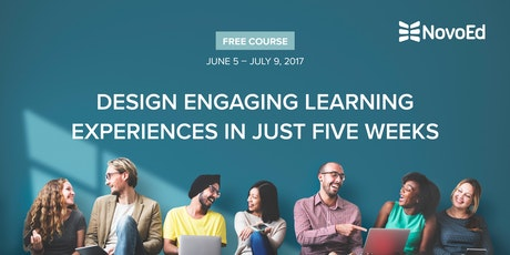 Free 5week Online Course Design Engaging Learning Experiences – Ticket Design Online Free