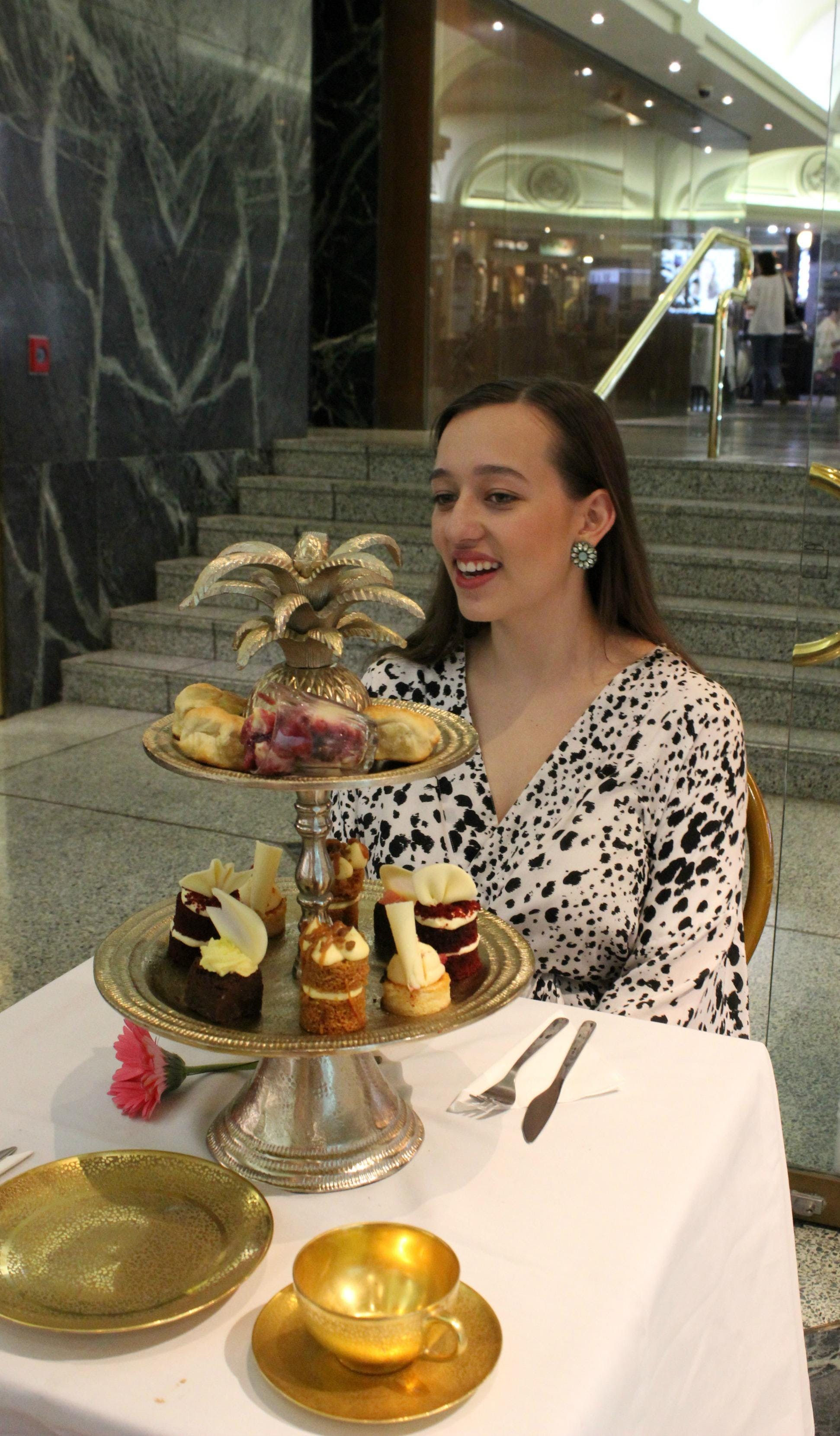 Dello Mano High Tea - Tattersalls Arcade Experience
