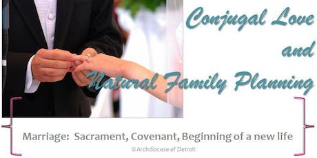 Conjugal Love and Natural Family Planning tickets