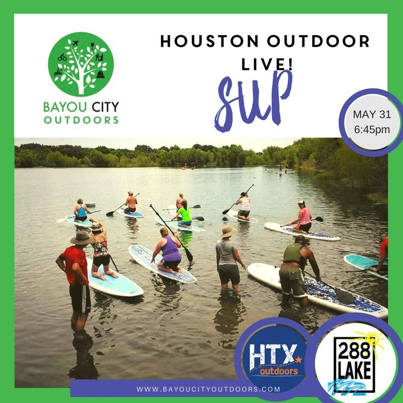 Houston Outdoors LIVE – Stand Up Paddleboarding 101 by BCO & HTXO. Houston Outdoors LIVE – Stand Up Paddleboarding 101 by BCO & HTXO