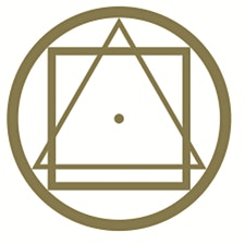 Golden Rosycross logo