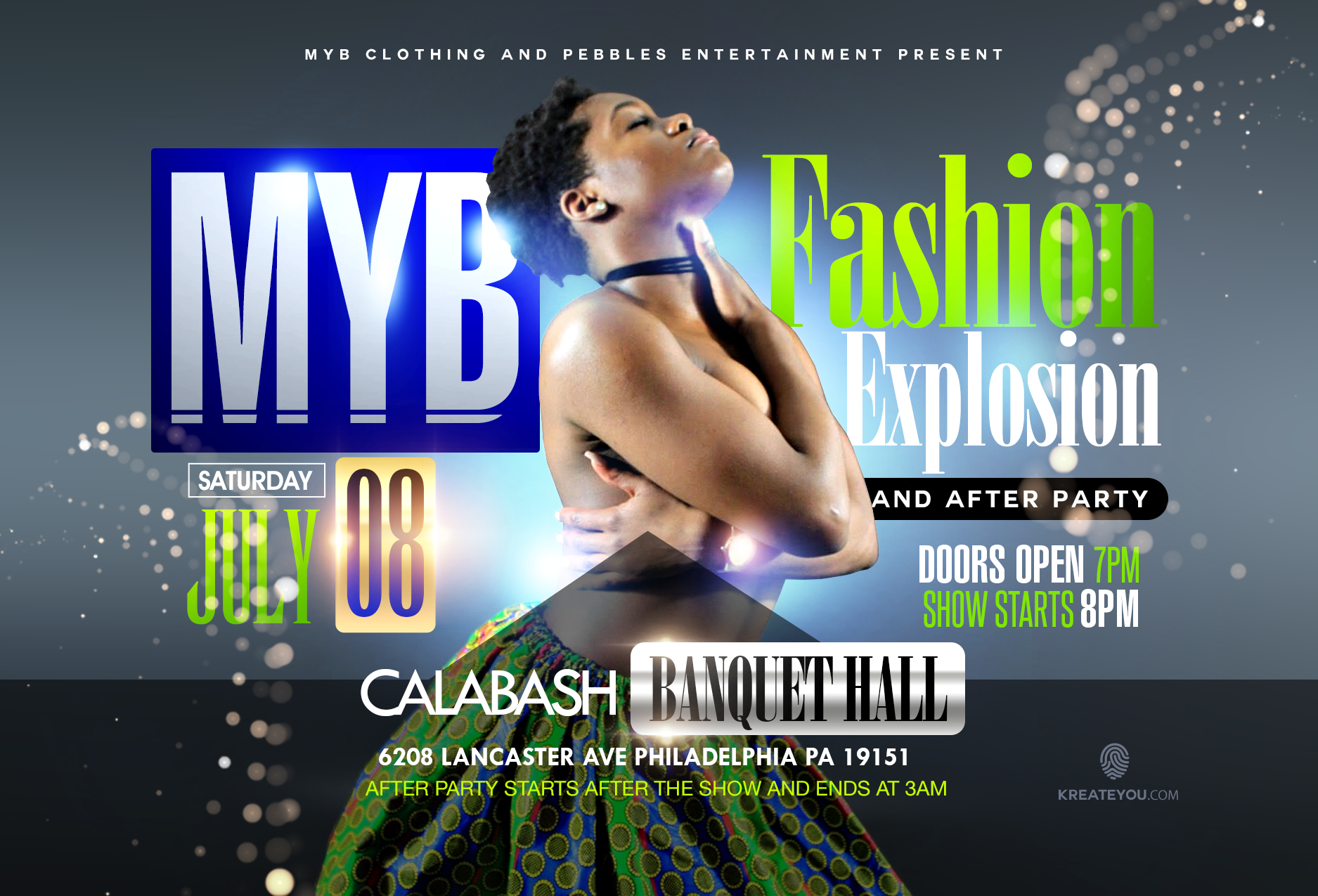 MYB Clothing Fashion Explosion and After Party. MYB Clothing Fashion Explosion and After Party