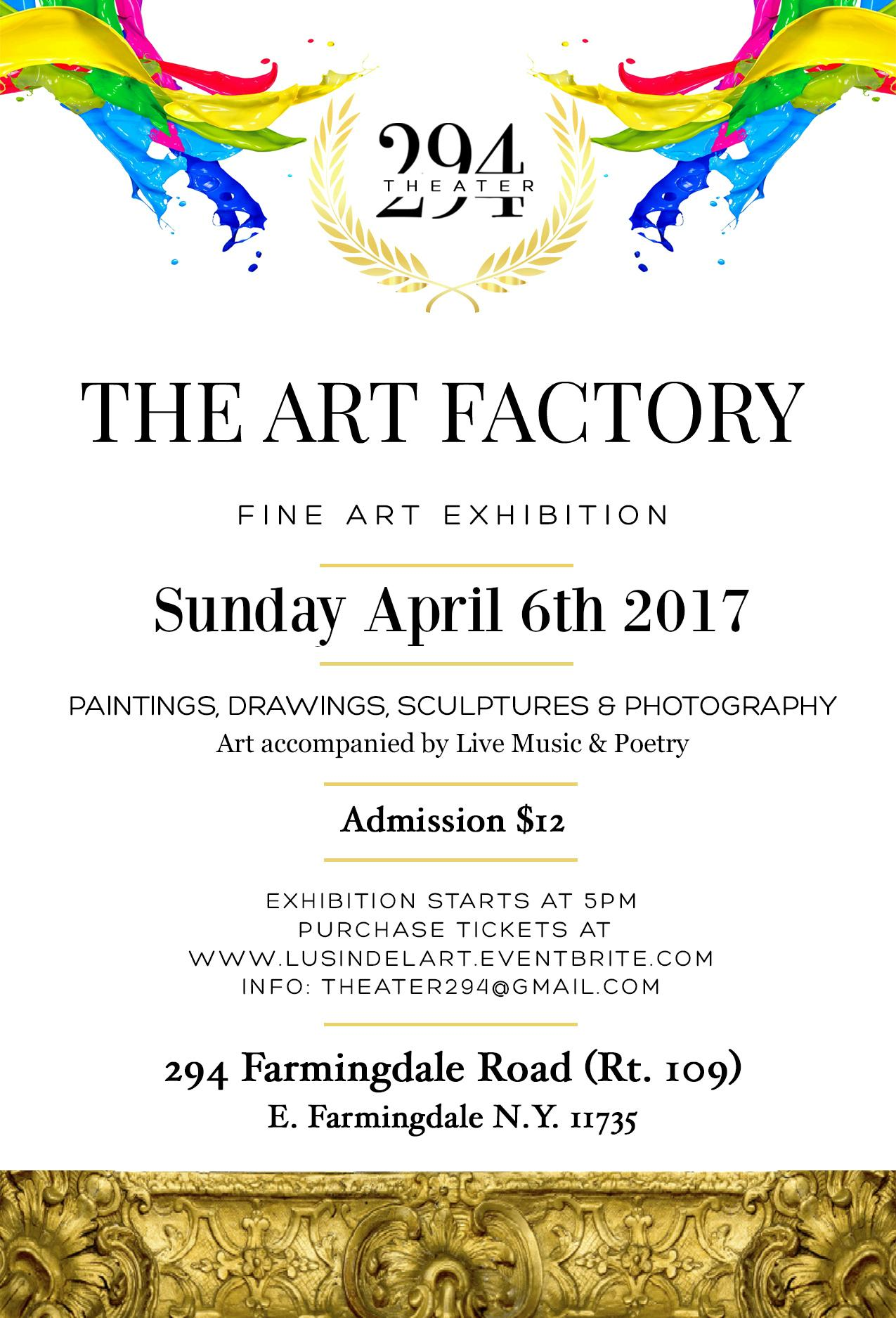 The Art Factory (Fine Art Exhibition)