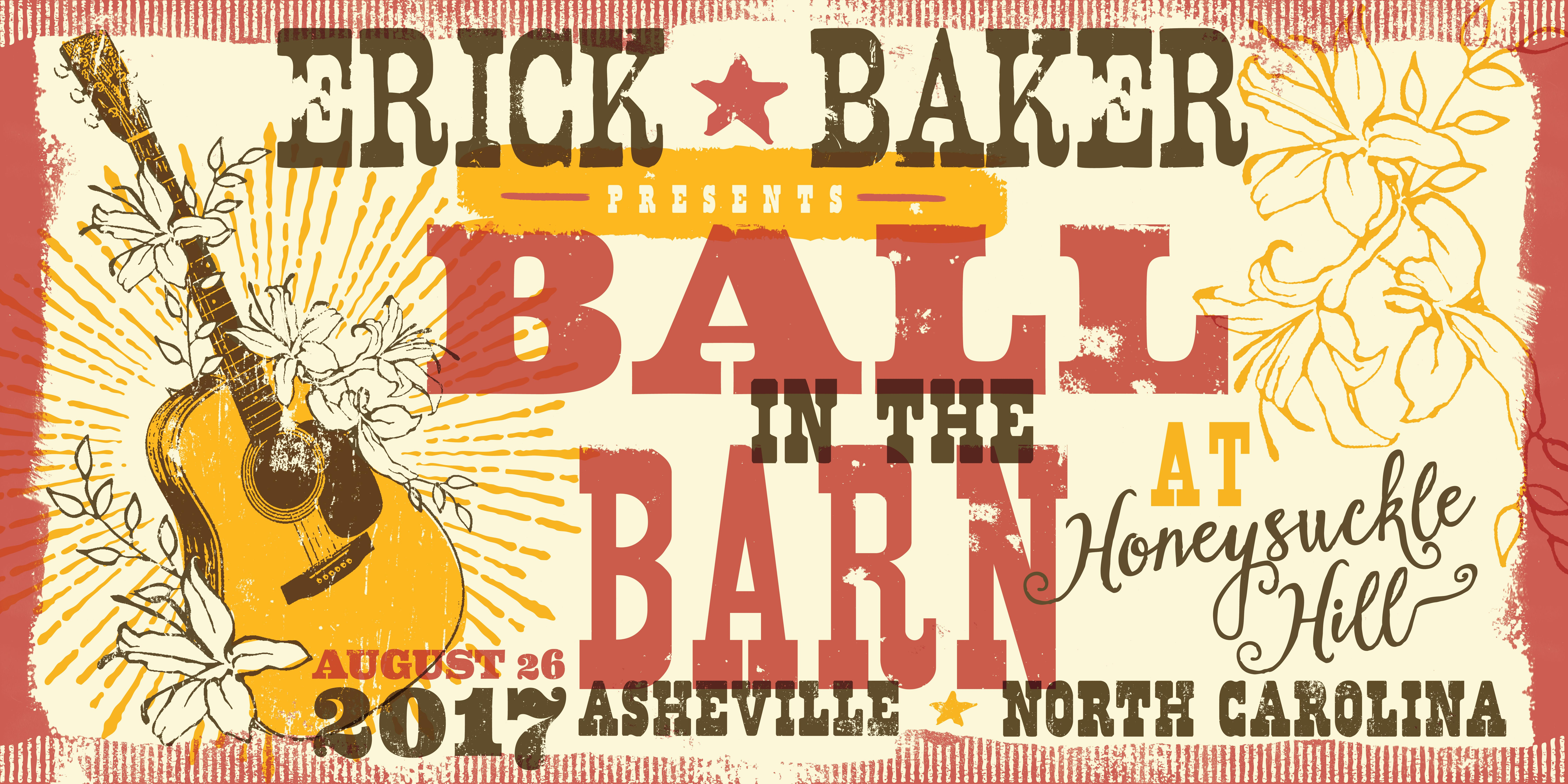 "Erick Baker Presents ""Ball In The Barn At Honeysuckle Hill"""