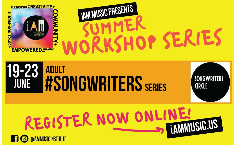 Adult #songwriters Series @iam Music Summer Workshop Series | Durango, CO | iAM MUSIC INC | June 19, 2017