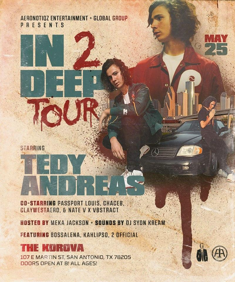 Tedy Andreas and Swanny Ivy Live in San Anton