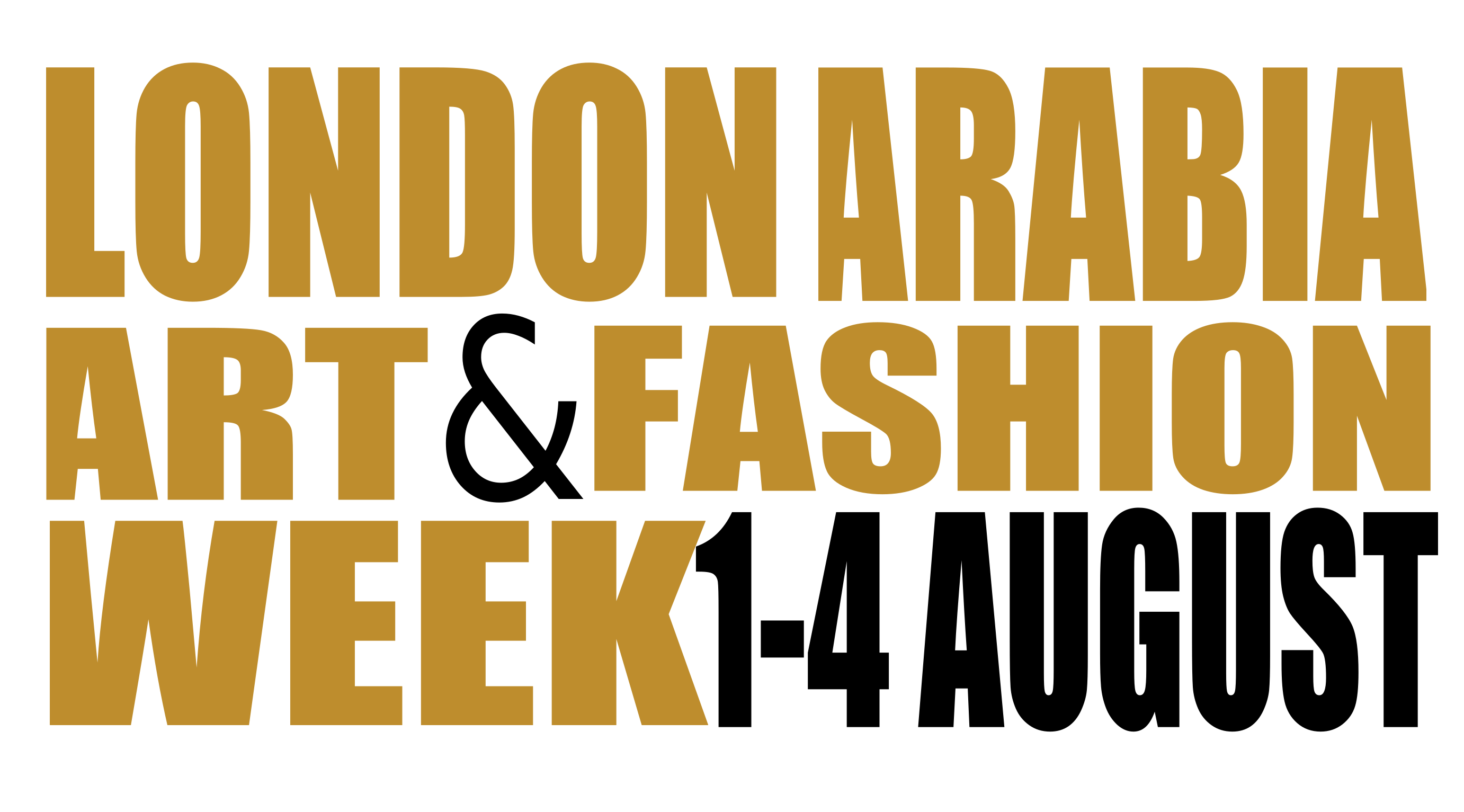 London Arabia Art & Fashion Week 2017