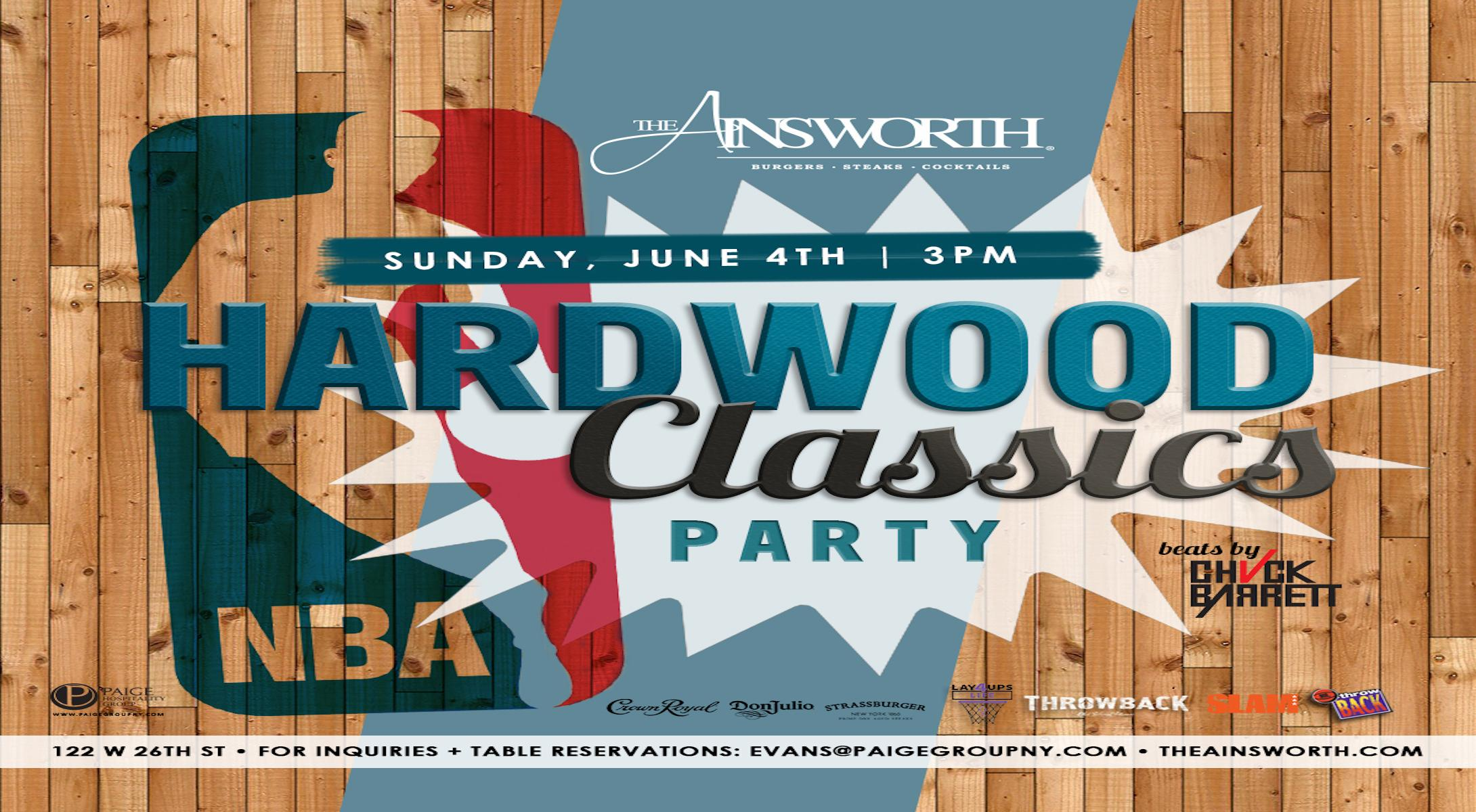 The Ainsworth NBA Finals Hardwood Classics Pa