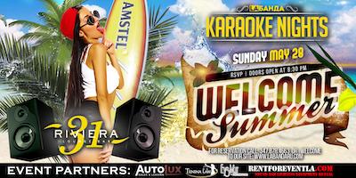 """""""Welcome summer"""" Karaoke Party By #labandaru"""