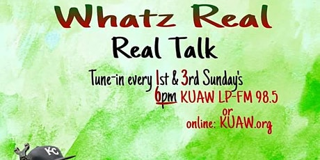 What'z Real Radio Show Hosted by Kcmo Councilman  Brandon Ellington tickets