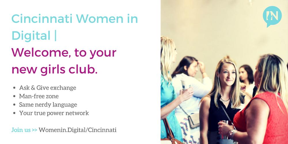 Cincinnati Women in Digital Summer Quarterly Meeting