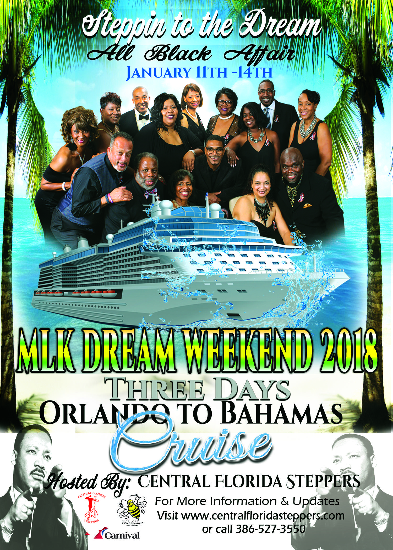STEPPIN TO THE DREAM 2018 CRUISE