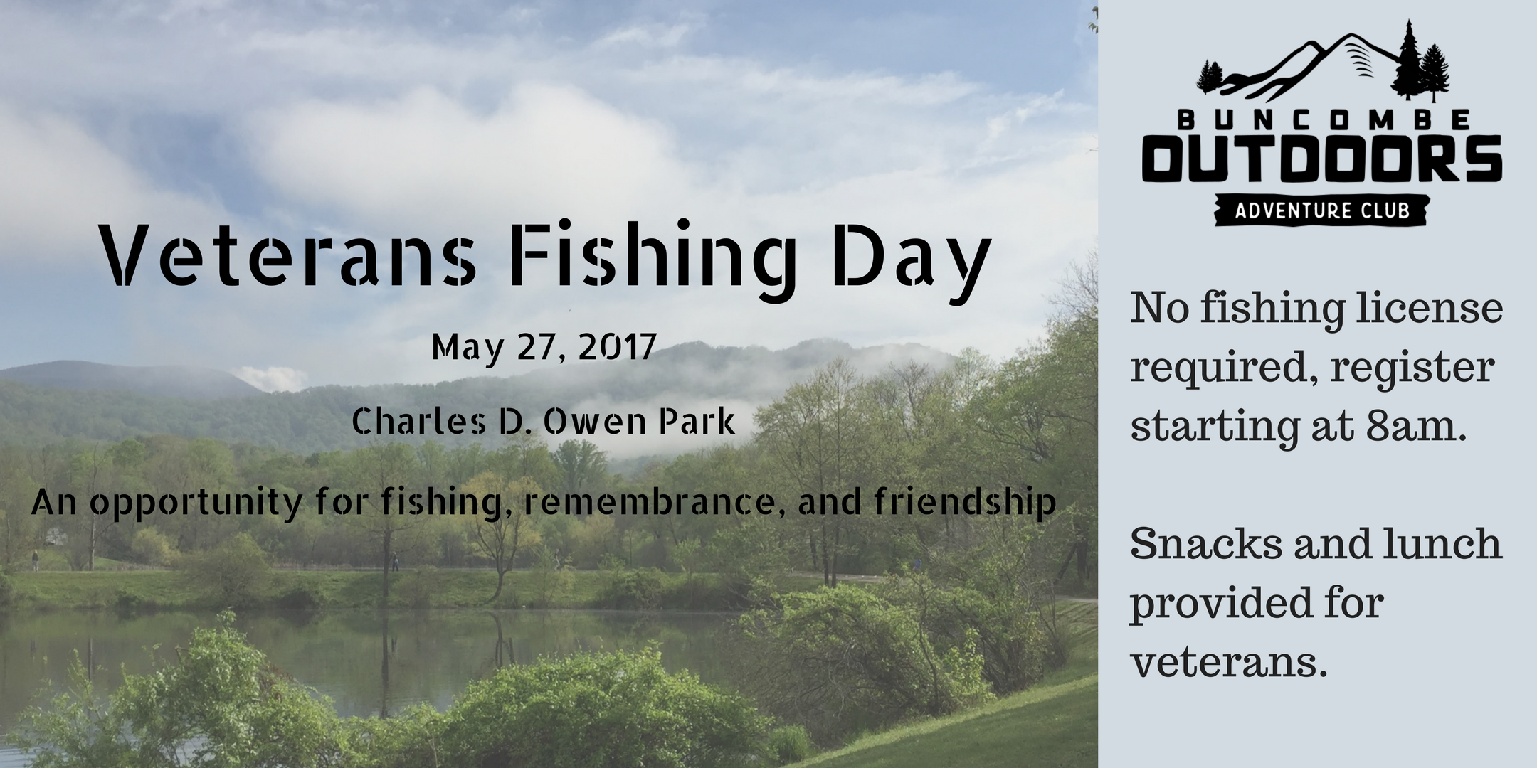 Veterans Fishing Day