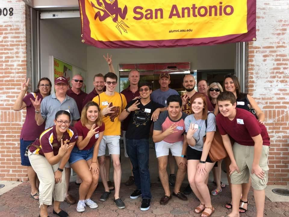 Albuquerque, NM: ASU Sun Devil Send-Off