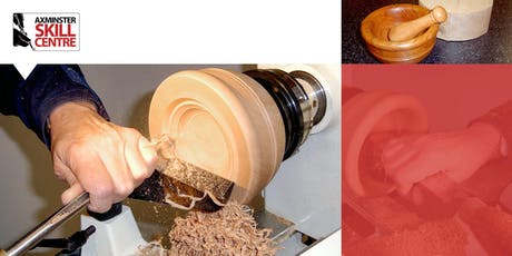 Woodturning - Making a Pestle and Mortar Course tickets