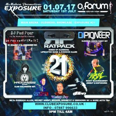 Club Exposure 21st Birthday Party