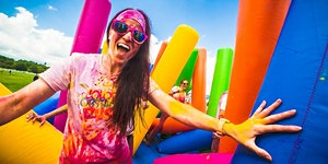 Inflatable Colour Run- Dublin