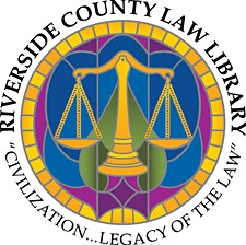 Riverside County Law Library logo