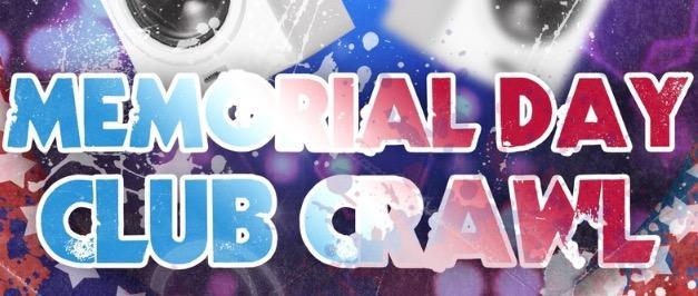 MEMORIAL DAY SUNDAY CLUB CRAWL SAN DIEGO