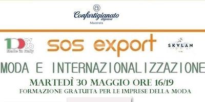 Sos Export - Moda e Internazionalizzazione