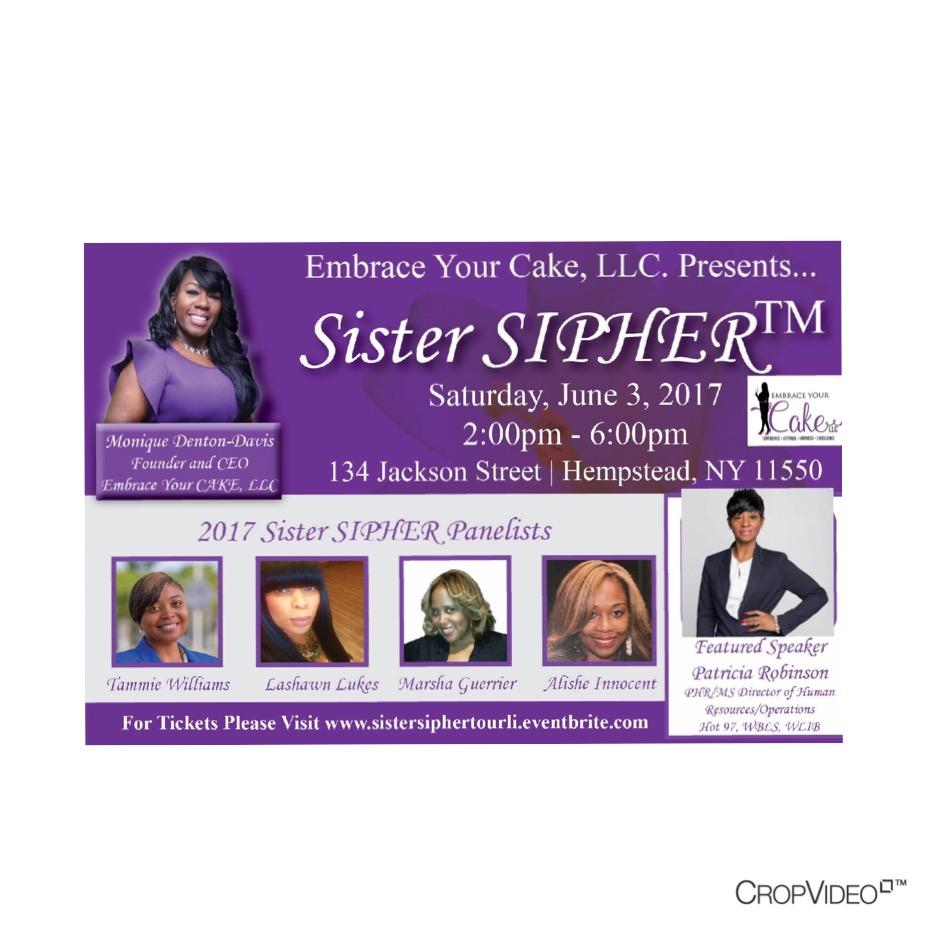 Sister SIPHER Tour - Long Island, NY