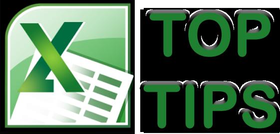 Excel 2010 Top Tips