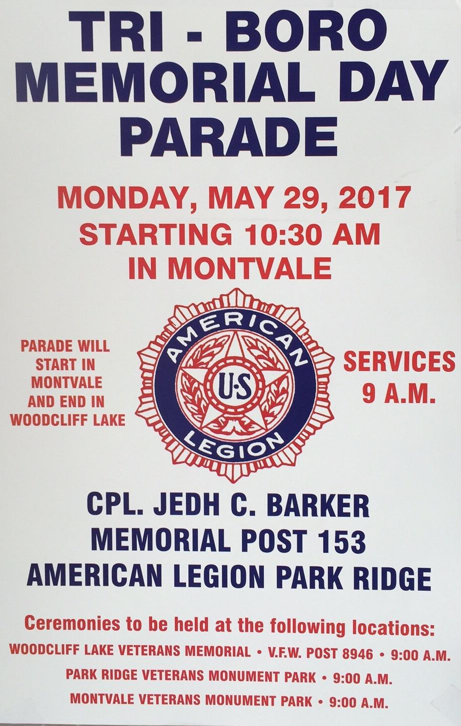 Memorial Day Parade Invitational