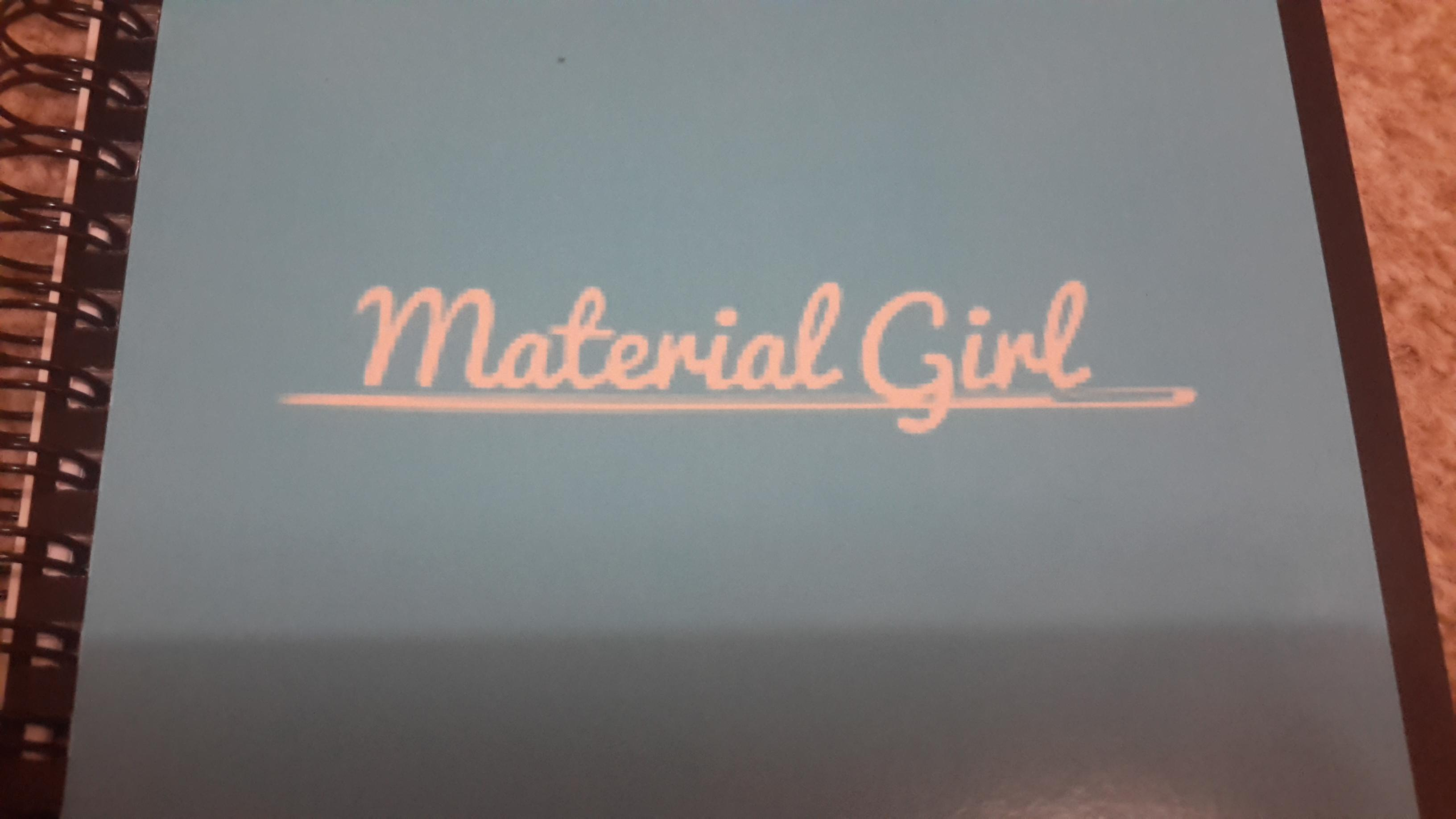 Material Girl Dressmaking and Sewing