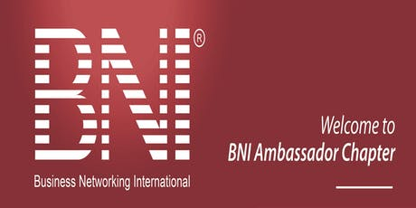 BNI Ambassador - Business Networking Breakfast, Canberra tickets