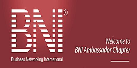 BNI Ambassador - Business Networking Breakfast, Canberra tickets