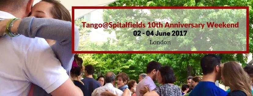 10 Years of Tango@Spitalfields - FREE outdoor Classes & Dancing