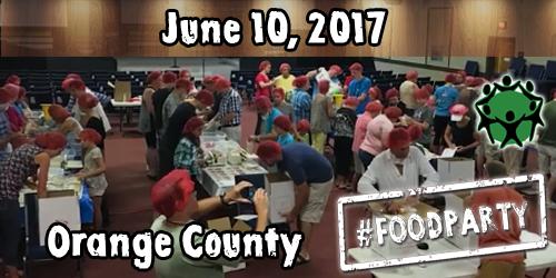 Orange County, Florida #FoodParty