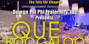 QUE BOOGALOO 2017 - Omega Psi Phi Fraternity - Zeta...