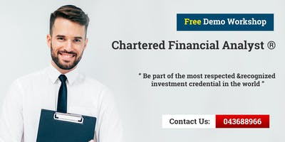 Chartered Financial Analyst (CFA) Introductory Workshop