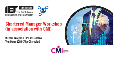 Chartered Manager Workshop (in association with CMI)