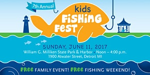 2017 Kids Fishing Fest Presented by the Detroit...