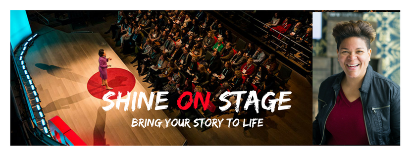 Shine ON Stage: how to find your heart story