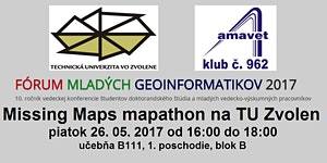 Missing Maps mapathon na Technickej univerzite vo Zvole...