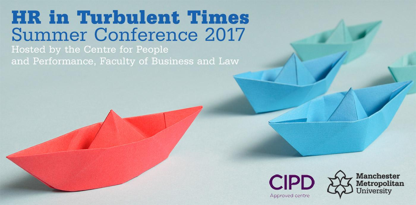 HR in Turbulent Times - CPP Summer Conference