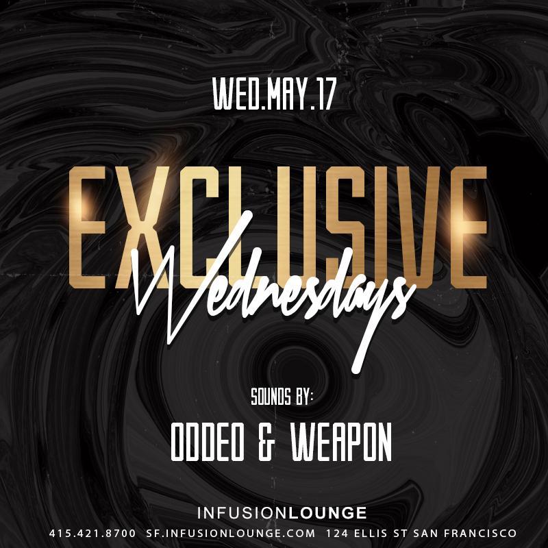 Exclusive Wednesdays Guest List - 6.21.2017