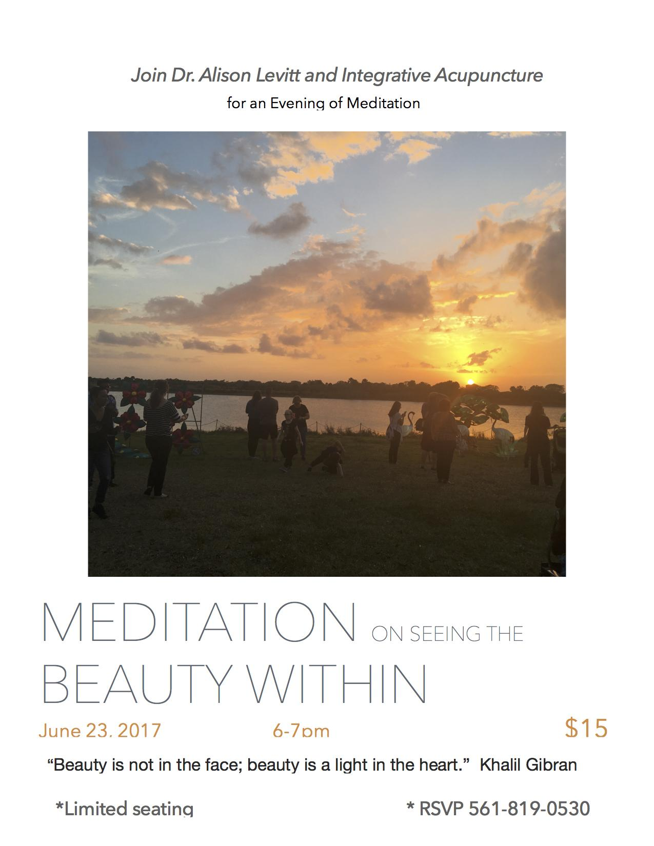 Meditation to Find Beauty Within