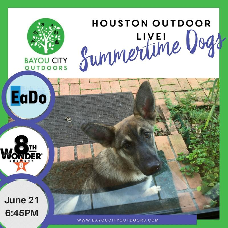 BCO & HTXO Present: Houston Outdoor LIVE Summertime Dogs . BCO & HTXO Present: Houston Outdoor LIVE Summertime Dogs