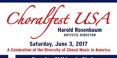 ChoralFest USA - A Celebration of the Diversity of Choral Music in America