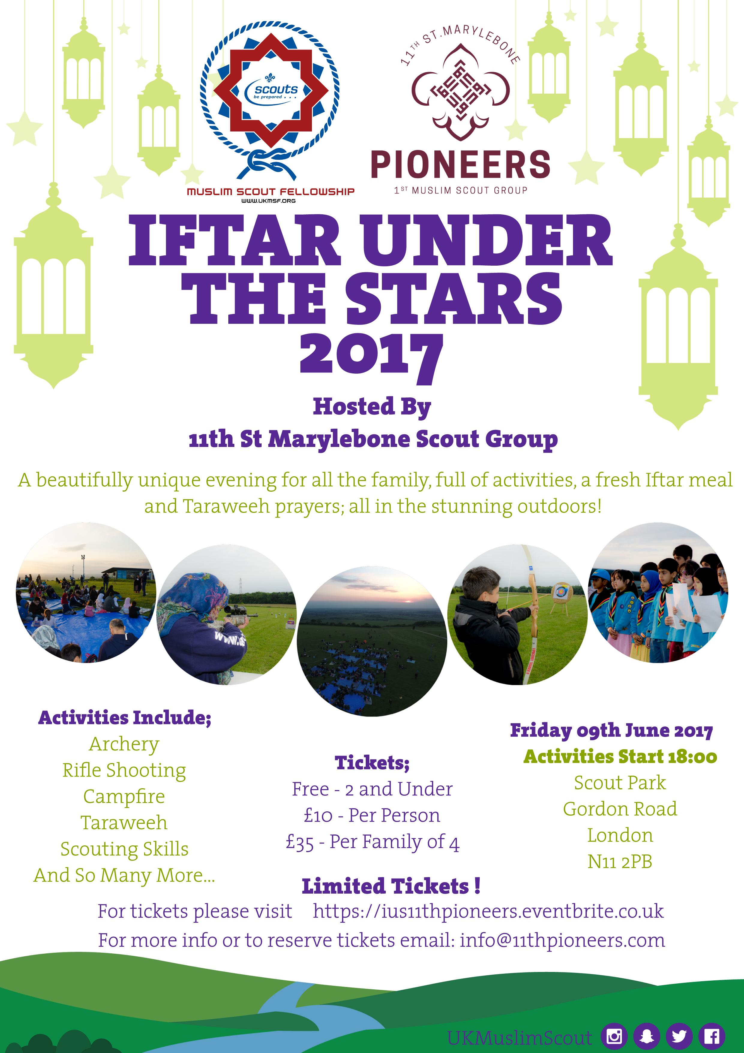 Iftar Under the Stars - Bounds Green, London